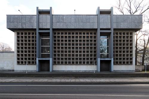 Propsteikirche St. Trinitatis Leipzig, Bauakademie der DDR, 1982. / 022015