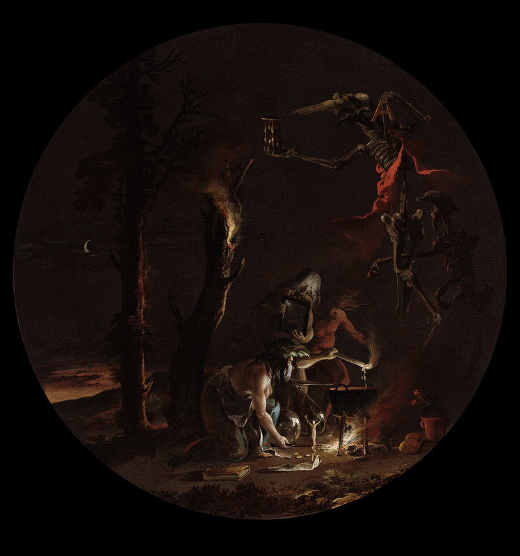 Salvator Rosa - Scene with Witches - Evening, 1645-1649