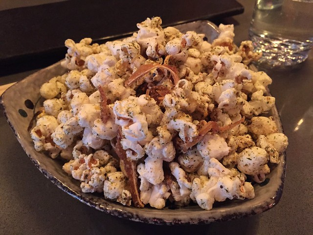 Hurricane popcorn and pig ears - Pink Zebra
