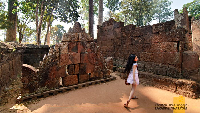 Banteay Srei Temple in Siem Reap