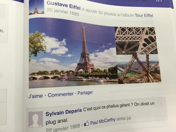 Histoire de France selon Facebook