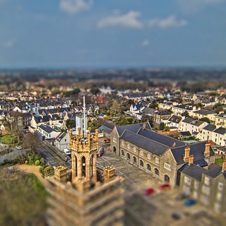 Victoria Tower tilt shift