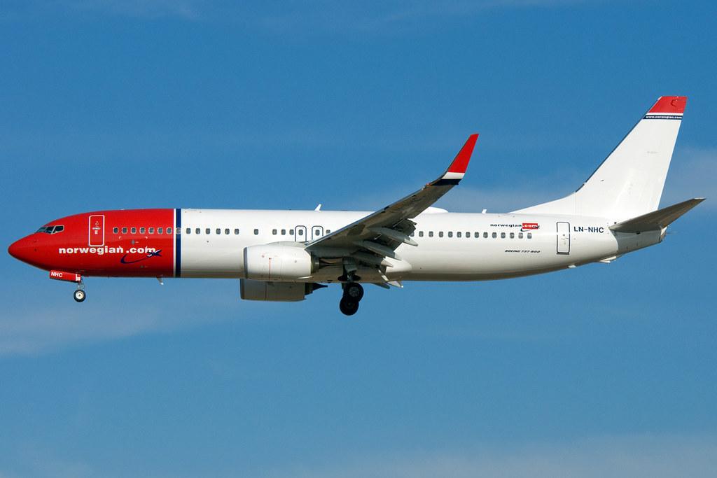 LN-NHC - B738 - Norwegian