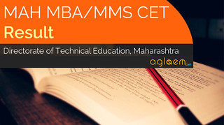 MAH MBA / MMS CET 2016 Result