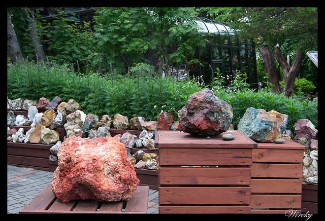 Minerales en Museo de minerales de la señora Petra