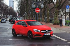 Red Velvet Mercedes Benz A45 AMG Edition 1
