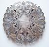 Vintage Wallace Silver Plate Art Nouveau Expanding Trivet