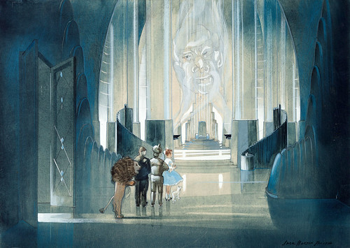 Wizard of Oz concept art by Jack Martin Smith