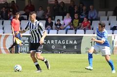 SERGIO JIMÉNEZ EN EL FC CARTAGENA 1 LUCENA CF 0