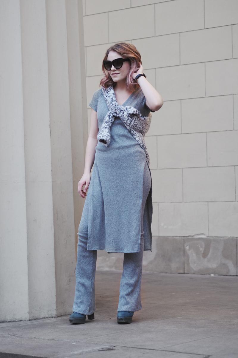 Gina Tricot scandinavian it girls klara trousers and tunika