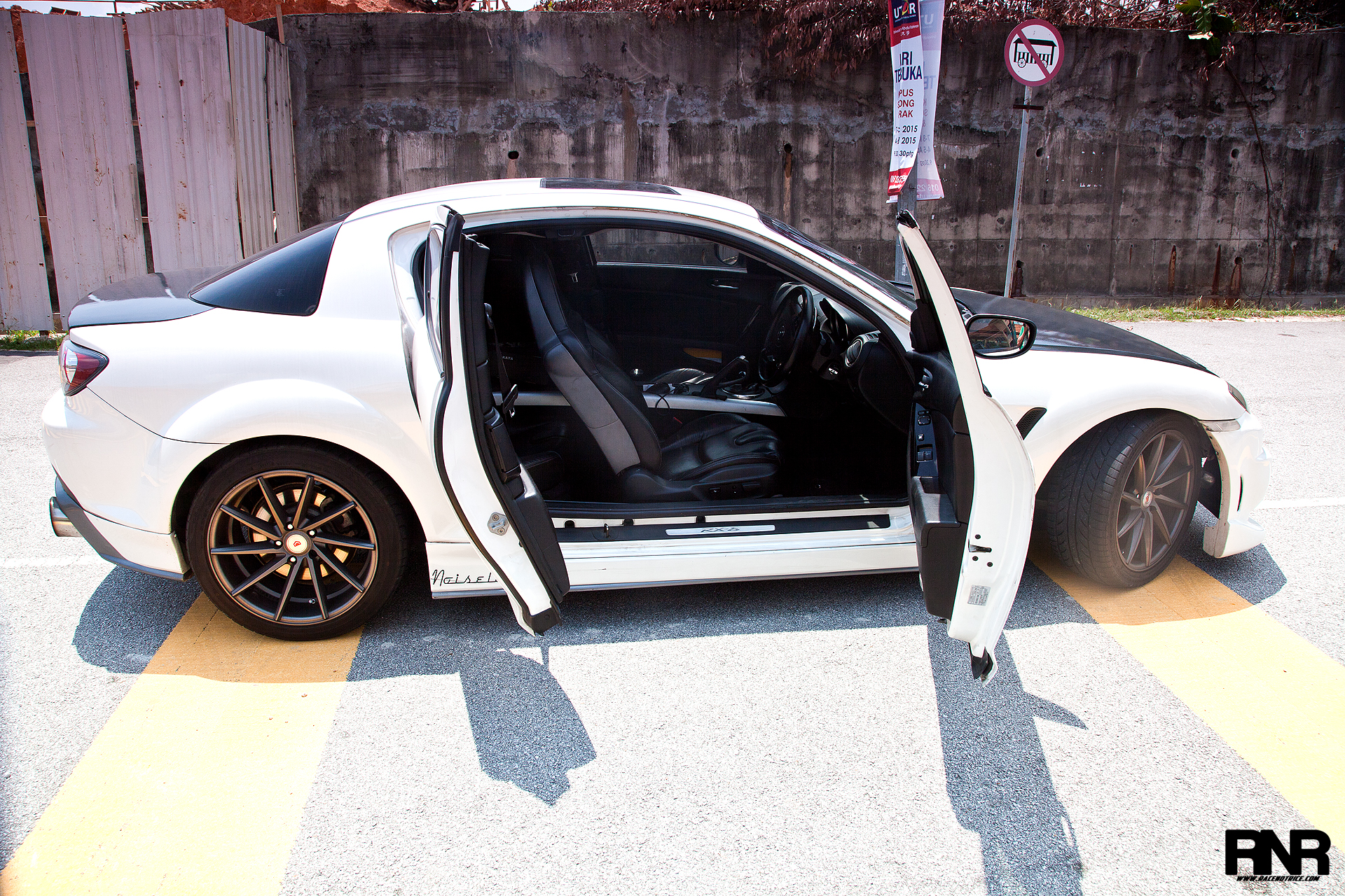 Looks like an RX8 rides like an RX8 feels like an RX8 but isnu0027t an RX8? Gotta love those doors. Who doesnu0027t love suicide doors? Plenty of space at the ... & RaceNotRice - Function+Form