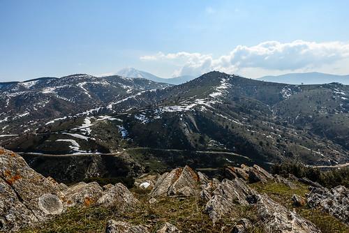 winter sky snow nikon mount greece f28 larissa mountainscape ossa d610 240700