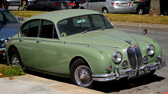 executive car(0.0), jaguar xk150(0.0), convertible(0.0), sports car(0.0), automobile(1.0), daimler 250(1.0), jaguar mark 2(1.0), vehicle(1.0), jaguar mark 1(1.0), mitsuoka viewt(1.0), antique car(1.0), sedan(1.0), classic car(1.0), vintage car(1.0), land vehicle(1.0), luxury vehicle(1.0), jaguar s-type(1.0),