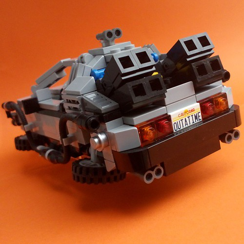 LEGO Back to the Future - DeLorean Time Machine