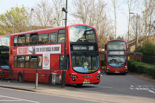 Go-Ahead Taking Over Anerley Bus Stand