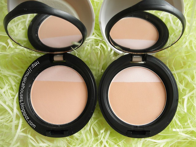 The Body Shop MoistureWhite Bright Compact Foundation SPF25 Shades 01 02