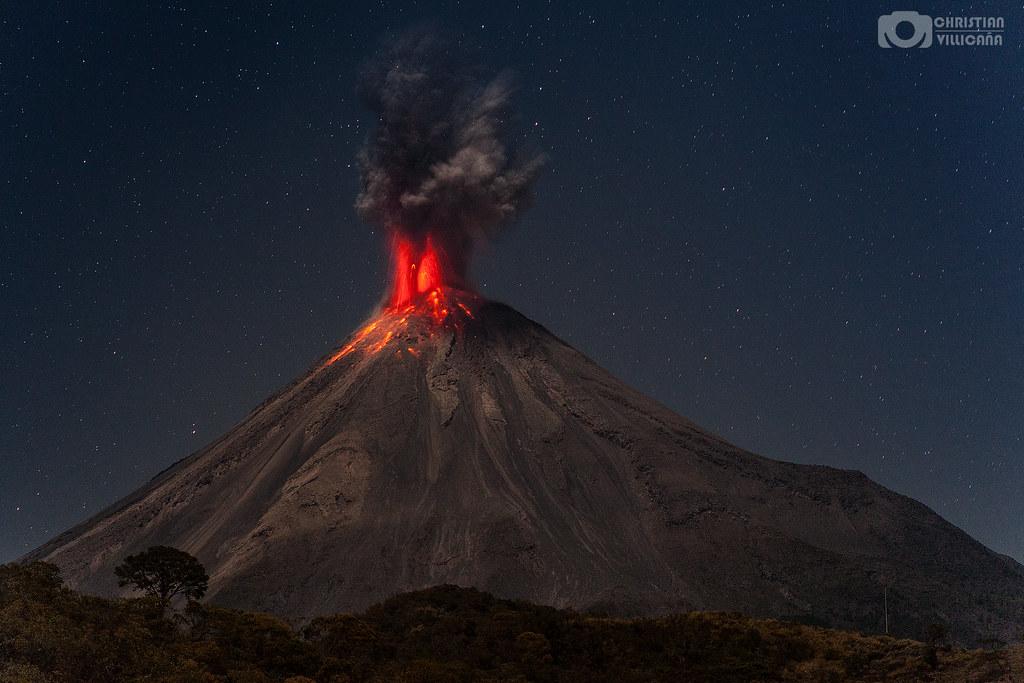 Volcán de Colima - México