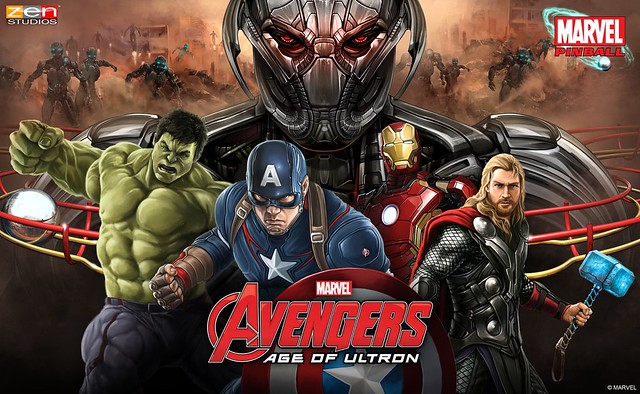 Avengers: Age of Ultron Pinball PS Vita'ya çıkıyor.