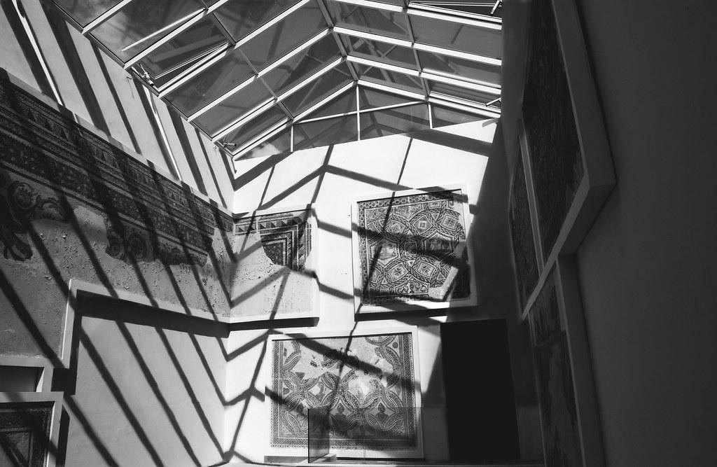 Shadows in Bardo museum