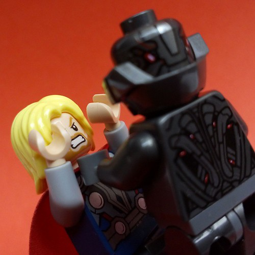 Ultron Vs Thor