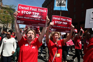 NPA #StopTPP Action - DC