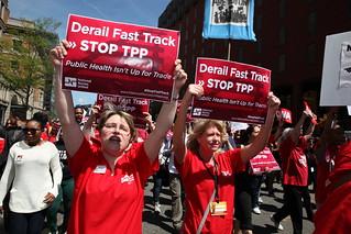 NPA #StopTPP Action - DC
