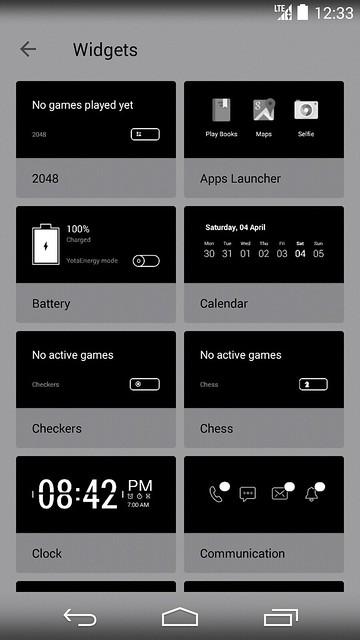 YotaPhone 2 - YotaPanel Widgets