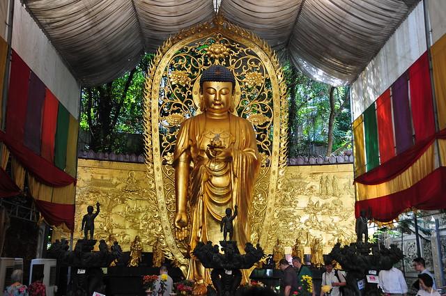 Amitābha Buddha at the Singapore Buddhist Lodge