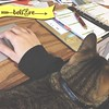 I believe that I can make it to my pen with a cat on my arm…it's so far from my hand! #harddayatwork #workfromhome #catsofinstagram #internetisforcats