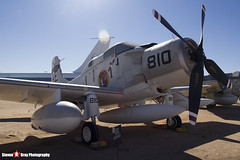 135018 AE-810 - 10095 - US Navy - Douglas EA-1F Skyraider AD-5Q - Pima Air and Space Museum, Tucson, Arizona - 141226 - Steven Gray - IMG_8450