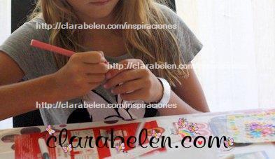 Reciclaje creativo de como hacer una pulsera con botellas de pet y servilletas