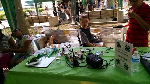 Youth Tent at the Greenbelt Mini-Maker Faire