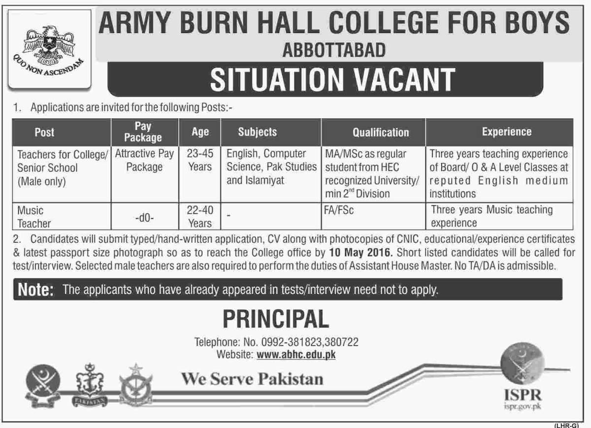Army Burn Hall College for Boys Abbotabad