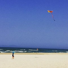Sunday sea snap. #vietnam #danang #love  #kites