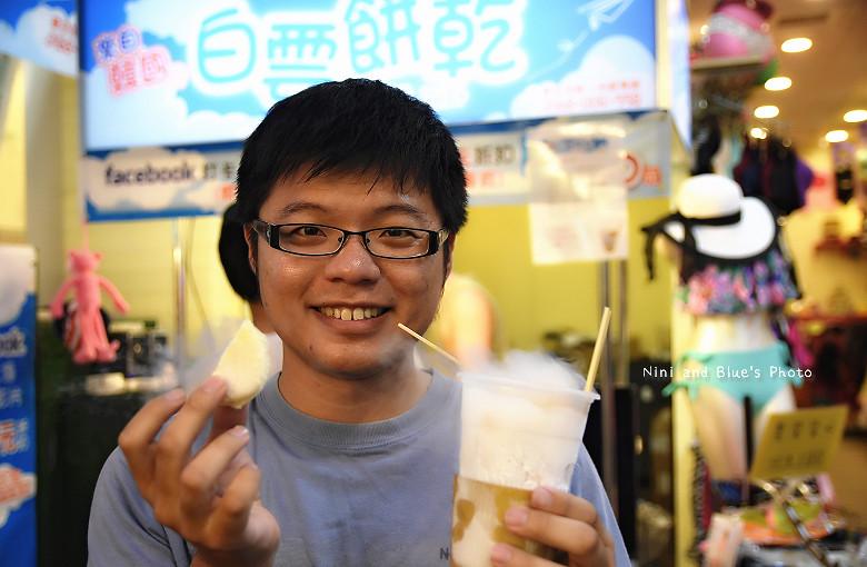 逢甲夜市美食小吃冰飲料韓國白雲餅乾15