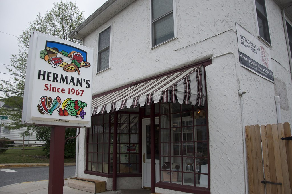 Herman's Meat Shop Newark DE Retro Roadmap