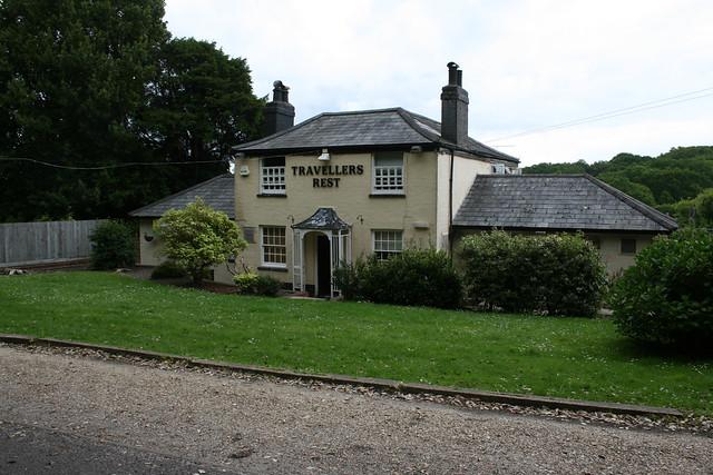 Pub in Frostlane near Hythe