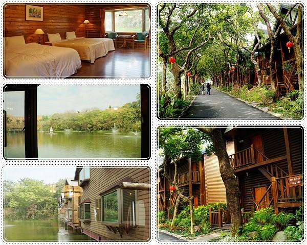 台南旅遊▋南元花園休閒農場-湖上小木屋與精緻餐點