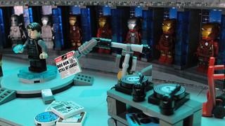 Lego Hall of Armor Iron Man