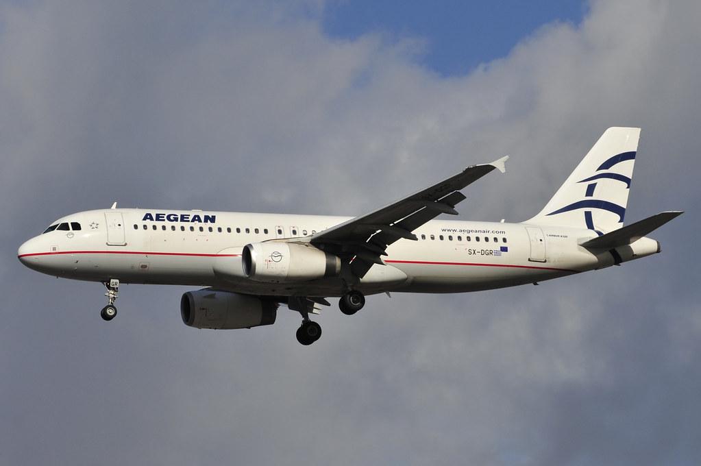 SX-DGR - A320 - Aegean Airlines
