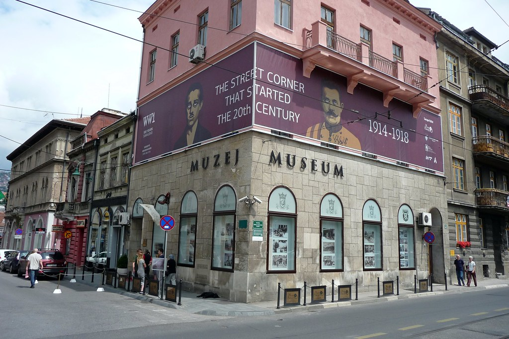 Franz Ferdinand Assassination Museum Sarajevo Bosnia He
