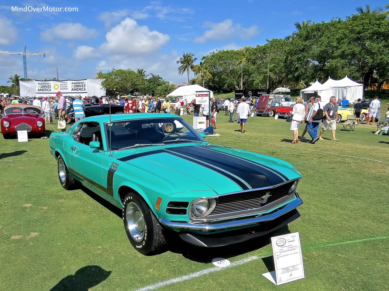 1970 Ford Mustang Boss 302 Front 1