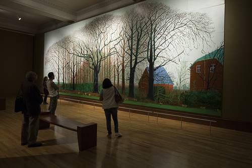 Monumental obra de Hockney se puede admirar en el Munal