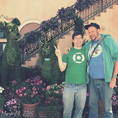 What an amazing time at #Epcot yesterday #DisneySide