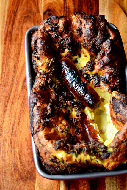 Traditional Recipe For Toad in The Hole
