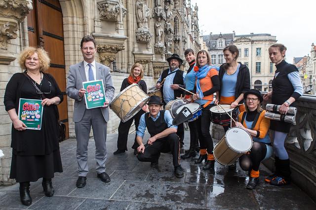 Voorstelling vernieuwd zomerprogramma stad Leuven