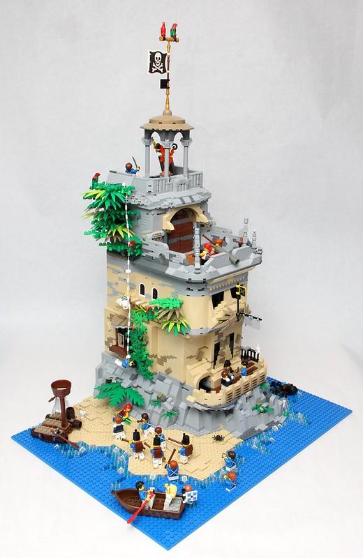 Afficher le sujet moc pirates fort island - Ile pirate lego ...