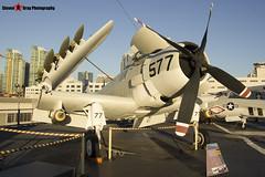 127922 NE-577 - 7937 - US Navy - Douglas AD-4W Skyraider - USS Midway Museum San Diego, California - 141223 - Steven Gray - IMG_6809