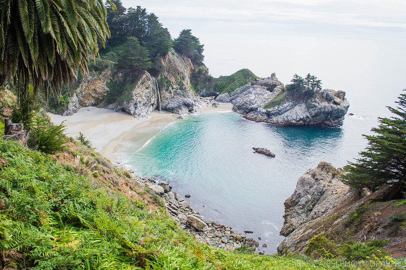 McWay Falls in Julia Pfeiffer Burns State Park California