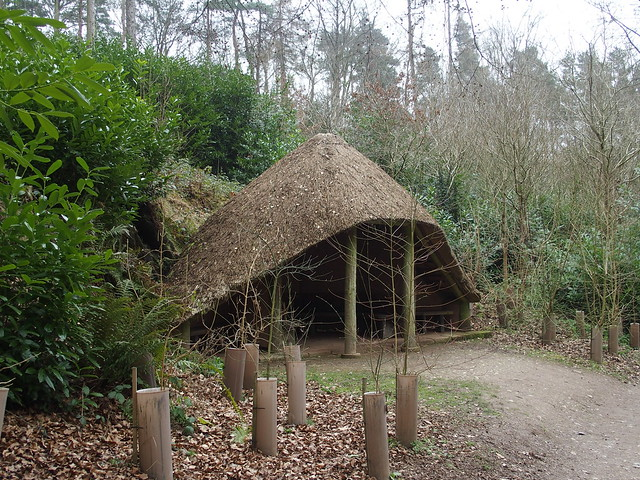 Thatched cabin